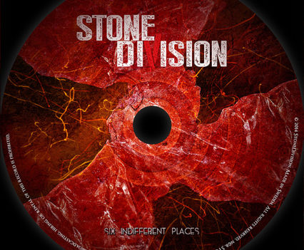 Stone Division - 6 indifferent places CD design #3