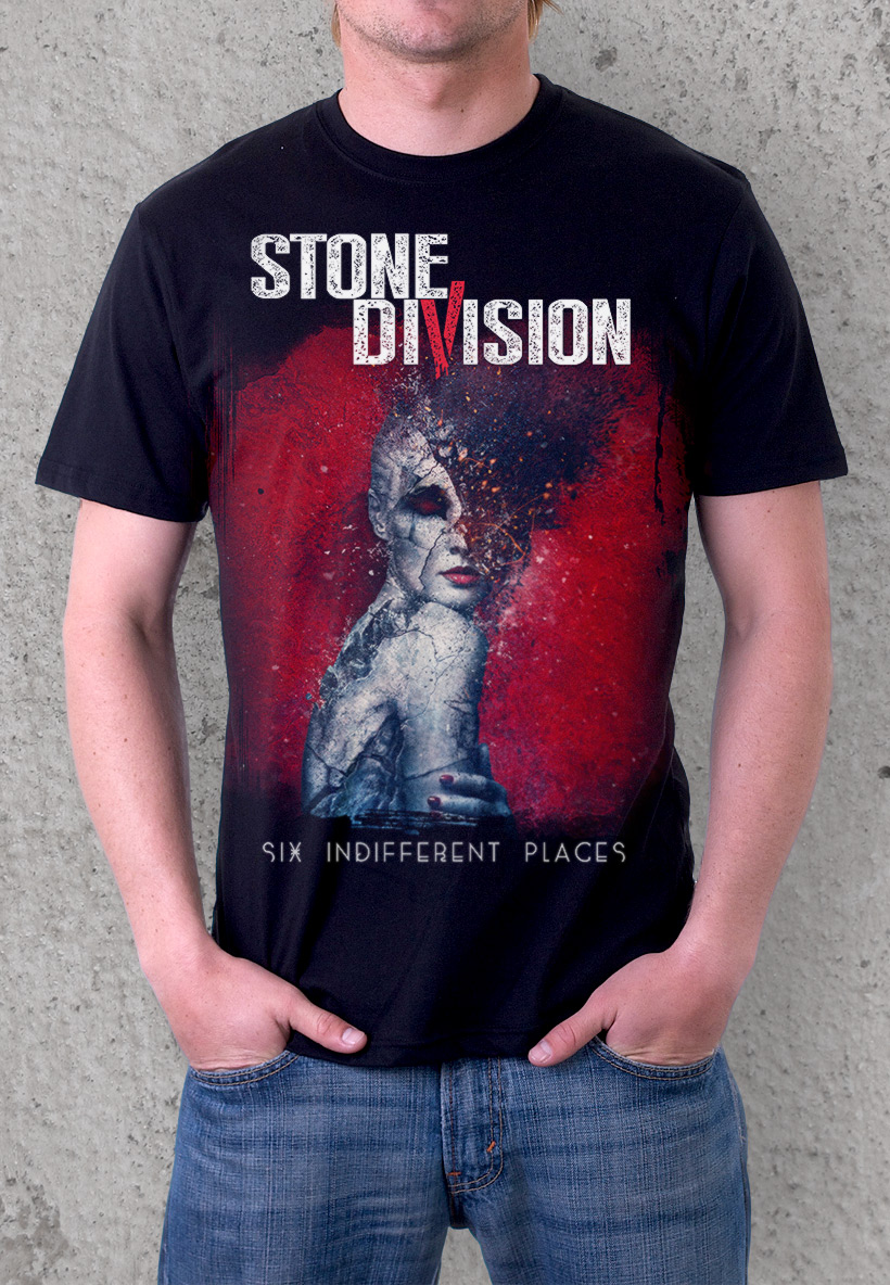 Stone Division - 6 indifferent places T-shirt desing