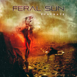 "Feral Sun ""Evacuate"" CD Artwork"