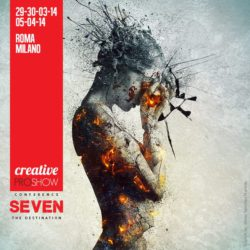 See you in the 7th Creative Pro Show in Rome!