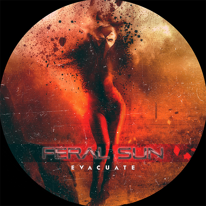 Feral Sun cd label