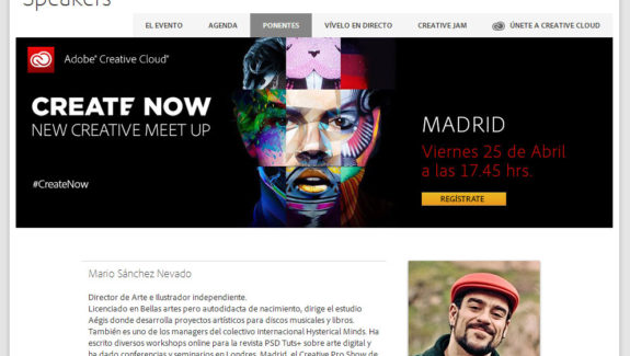 create now adobe ponentes
