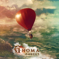 "G-Noma ""Cauces"" CD Artwork"