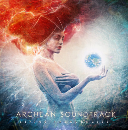 "Archean Soundtrack ""Living Frecuencies"" CD Artwork"