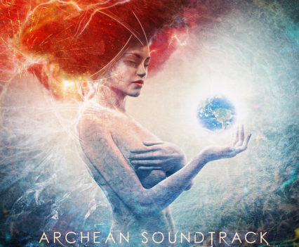Archean Soundtrack CD Cover Artwork by Mario Sánchez Nevado