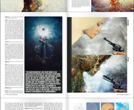 Mario Sanchez Nevado Creativ Magazine Interview