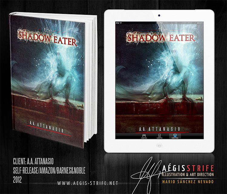 The Shadow Eater book cover artwork