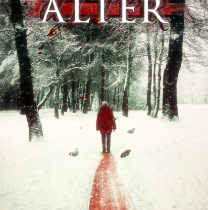 """Álter"" Book cover artwork"