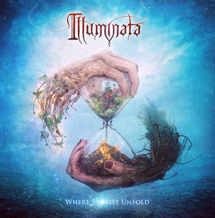 "Illuminata ""Where Stories Unfold"" CD Artwork"