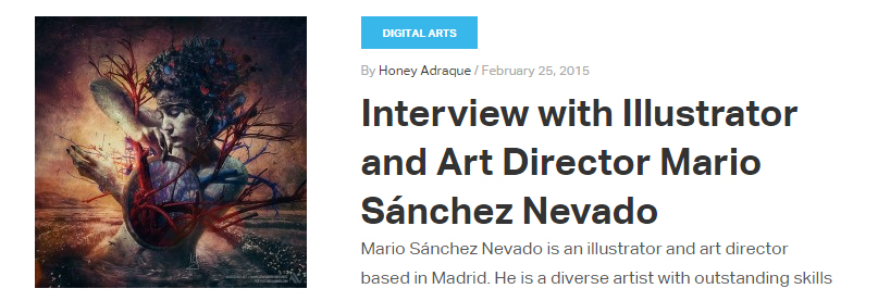 Mario Sánchez Nevado Interview - Photoshop Tutorials