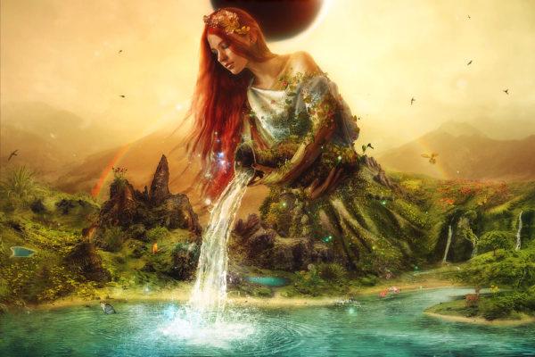 Fountain of Eternity CD Cover by Mario Sanchez Nevado