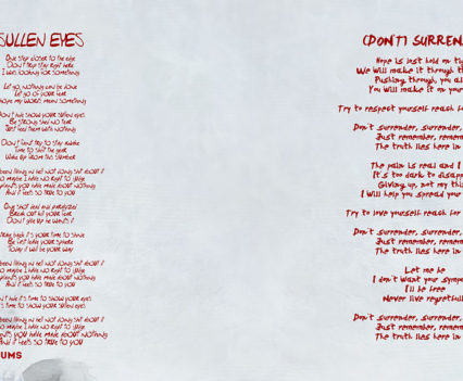 Gloomball - The quiet monster booklet design 5