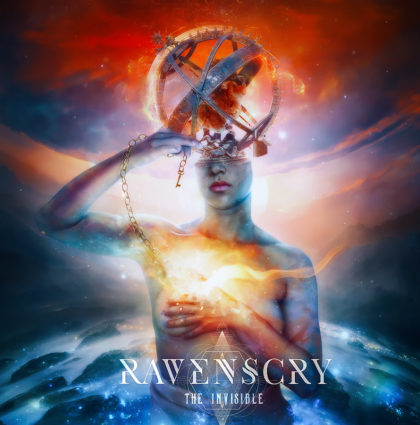 "Ravenscry ""The Invisible"" CD Artwork"