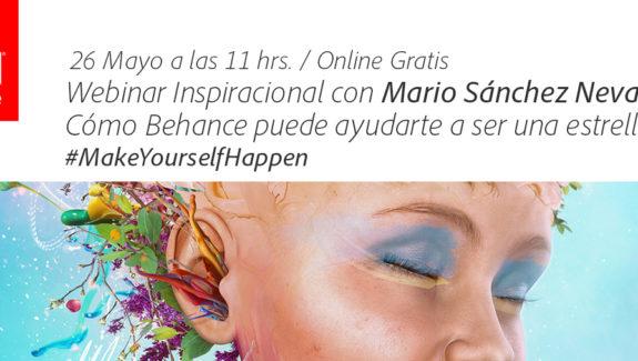 Behance Webinar con Mario Sánchez Nevado
