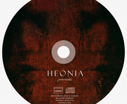 Heonia CD Design by Aégis Illustration