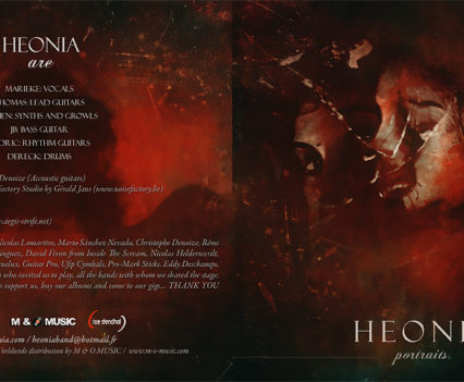 Heonia Portraits booklet design