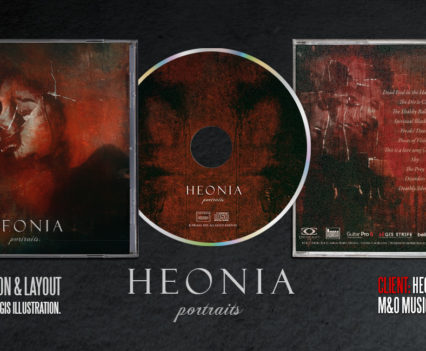 Heonia Portraits CD jewel case