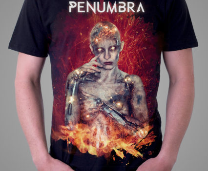 Penumbra T-Shirt Design by Aégis Illustration