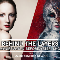 Behind the Layers - Before and After Photoshop