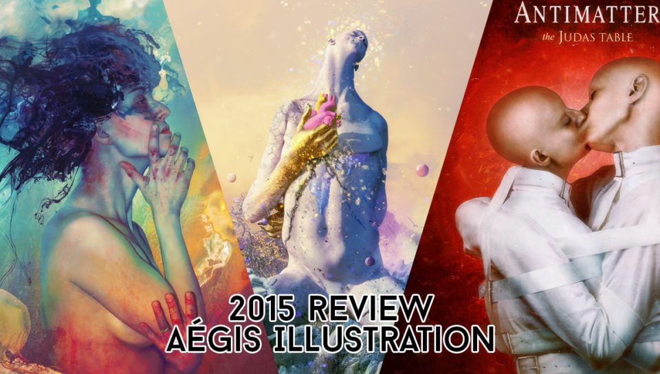 Aégis Illustration Digital Art Compilation