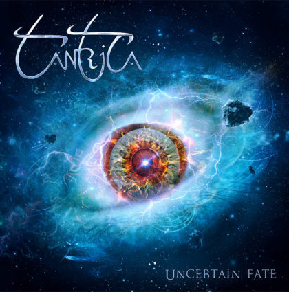 "Tantrica ""Uncertain Fate"" CD Artwork"