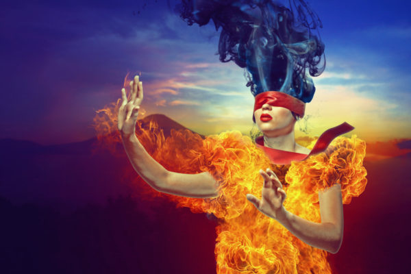 Photoshop Tip: Fire with Blending Modes