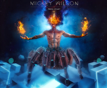 Mickey Wilson - Press Start Album Artwork