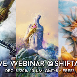Behind the Layers Photoshop Webinar with Shiftart