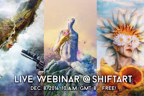 Shiftart Photoshop Webinar with Mario Sánchez Nevado