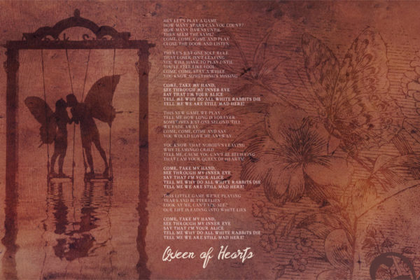 Tezaura - Heartcore booklet design