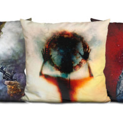 New Art Velvet Pillows!