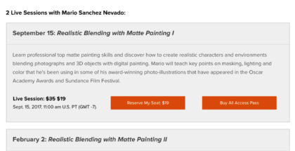 Mario Sanchez Nevado Matte Painting classes