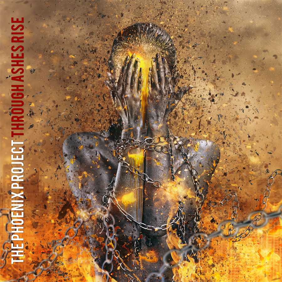 "The Phoenix Project ""Through Ashes Rise"" CD Artwork"