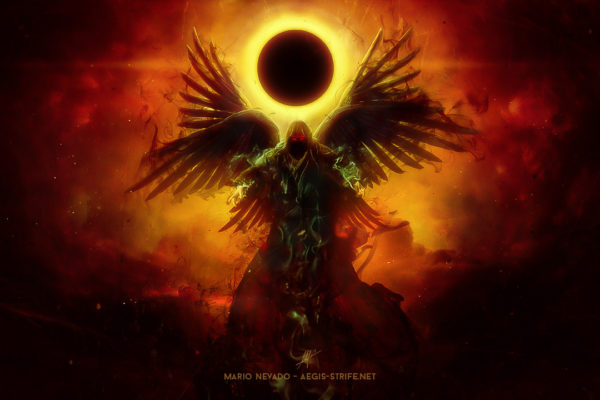 Wings of Apocalypse CD Cover by Mario Sanchez Nevado