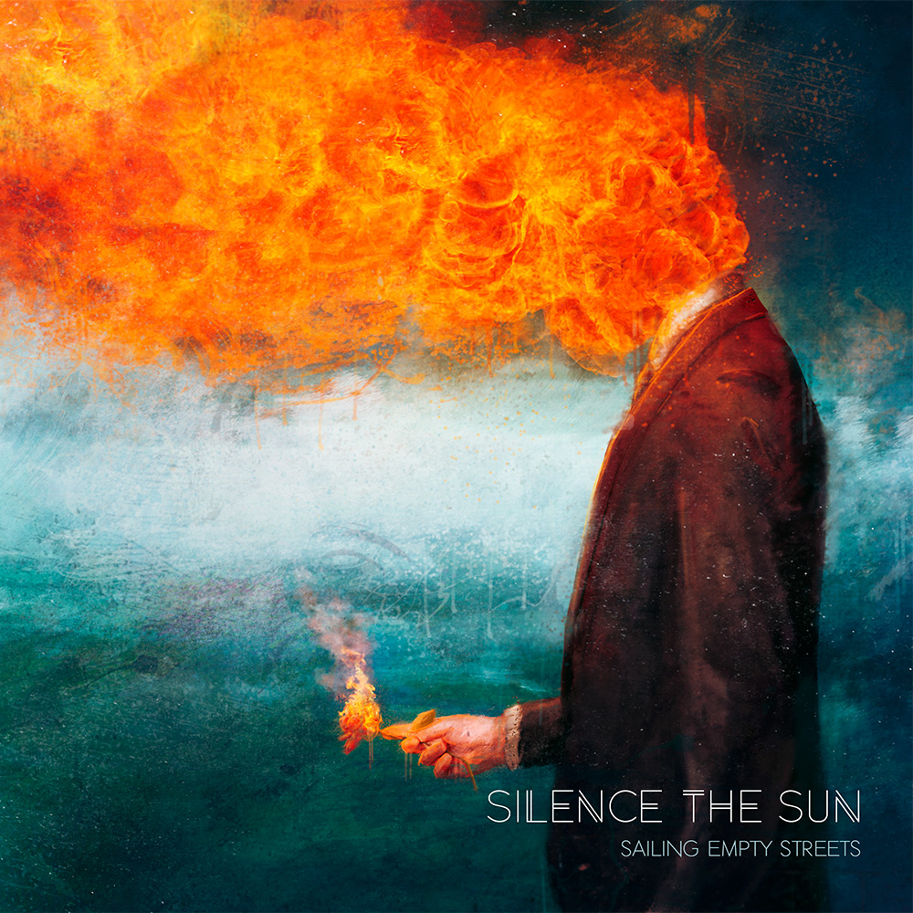 Silence the Sun CD Cover Artwork by Mario Nevado